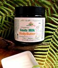 earthbody GOATS MILK BODY BUTTER ~ PURE NATURAL ORGANIC 6 Aromas Available 100g