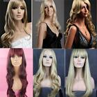 Ladies Long Blonde Wig Red Brown Wig Straight Wavy Wig Vogue Fashion Wigs UK