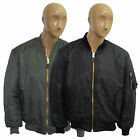 MA1 Flying Military Army Security Pilot Biker Mens new Bomber Combat Jacket Coat
