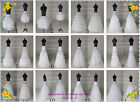 New White A Line/6Hoop/Hoopless/Short Crinoline Petticoat/Underskirt wedding