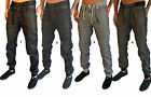 MENS DESIGNER ZICO DENIM JEANS CUFFED JOGGERS TAPERED FIT TWISTED CARGO PANTS
