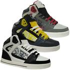 MENS HI TOPS TRAINERS BOYS HIGH ANKLE RETRO DESIGNER BOOTS BASKETBALL SHOES SIZE