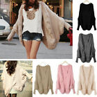 Cable Knitted Batwing Cape Cardigan Sweater Shawls Loose Jacket Coat [JG]