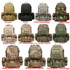 New 50L Molle Assault Tactical Outdoor Military Rucksacks Backpack Camping Bag
