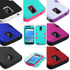 for Samsung Galaxy S2 T989 (T-Mobile) Hard & Soft Rubber Hybrid Armor Cover Case
