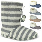 WOMENS SLIPPERS BOOTS LADIES GIRLS WINTER WARM FUR NEW ANKLE BOOTIE SHOES SIZE
