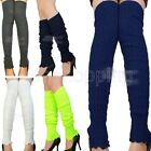Sexy New Women Casual Trendy Knee High Leg Warmers Knit Stretch Comfy Socks New
