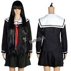 Lady Cosplay Costumes HELL GIRL Enma ai Black School Uniforms Any M L Size