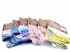 LADIES 3 PACK 100% COTTON ASSORTED DESIGN FULL KNICKERS BRIEFS SIZES 12-26 NEW
