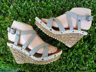 Fashion Women's Wedge Sandal Sizes 6-10 beige