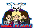 ICONZ CARTOON TEE SHIRT SMELL THE GLOVE SPINAL TAP ROCK AND ROLL NIGHTMARE