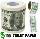 $100.00 - One Hundred Dollar Bill Toilet Paper Roll + 1 Million Dollar Bill