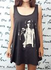THE STROKES Julian Casablancas WOMEN T-SHIRT DRESS Tank Top Tunic Vest Size M L