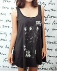 MUSE Matthew Bellamy UK Rock WOMEN T-SHIRT DRESS Tank Top Tunic Vest Size M L