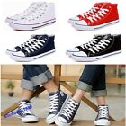 Unisex Hot Classic High Top Canvas Shoes Flat Sneakers Lace Up Casual Shoes