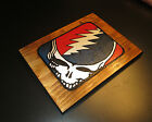 """Grateful Dead Wood Carving """"Steal Your Face"""" Hard Rock Memorabilia FREE SHIPPING"""