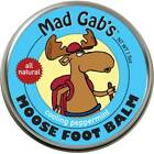 Mad Gabs Bearfoot Soothing Peppermint Foot Balm in Metal Tin
