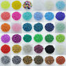 Wholesal Cezch Glass Seed Beads Jewelry Finding Spacer Beads Solid Color DIY