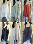 *Filo* resort top, hi-lo  6 colours to choose 8,10,12,14,16,18 Great for summer