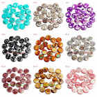 """20mm Pretty Natural Multicolor Shell Coin Shape Gemstone Loose Beads Strand 15"""""""