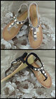 *Caroline Morgan* sandals in Black/Beige embellished with bling just gorgeous!!