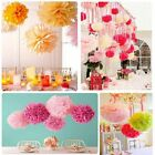 Wedding Party's Home Outdoor Decor Tissue Paper Pom Poms Flower Ball AG