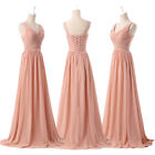 2014 Long Women's Sexy Charm Deep V Prom Ball Party Gown Evening Chiffon Dresses