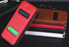 New Genuine Real Cow Leather Flip Phone Case Cover For Apple iPhone 5 5S