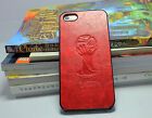 PU Leather World Cup 2014 Brazil Hard Cover Case For Apple iPhone 5 5S