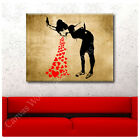BIG Canvas Banksy Graffiti Lovesick prints gallery photos repro wall art poster