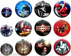 BADGES 25mm-40mm BUY ONE - GET ONE FREE Multi-Listing FREE UK POSTAGE