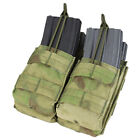 Condor MA43-015 A-TACS FG Double Stacker MOLLE Mag Pouch-Holds 4 Mags NIP