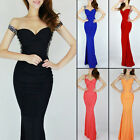Sexy Women Formal Homecoming Wedding Dress Gowns Cocktail Long Evening Dresses