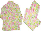 NWT VICTORIA'S SECRET FRUITS FLANNEL COTTON PAJAMA PJS SLEEP SET XS, L #FS4