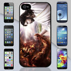 New Jesus vs. Devil Arm Wrestling Apple iPhone & Samsung Galaxy Case Cover