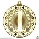50mm 1st, 2nd or 3rd Place Medals With FREE Engraving + Ribbon option of Case