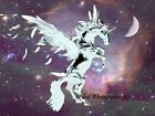 Surreal Unicorn Pegasus Fairy Horse Matted Picture Art Print A546