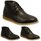 MENS WINTER LACE UP CASUAL FORMAL ANKLE DESERT CHELSEA BOOTS TRAINERS SHOES SIZE