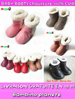 ❤ NEW BOOTS BOOT BABY KID BOY GIRL TODDLER LEATHER FUR WARM WINTER FREE SHIP ✿