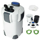 Aquarium 3-Stage External Canister Filter 265 GPH for Fresh Salt Water 75 Gal
