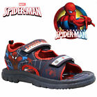 BOYS AMAZING SPIDERMAN INFANT SUMMER SANDALS KIDS TRAIL WALKING BEACH SHOES