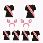 HEN PARTY SASHES & BOPPERS - Hen Party, Bride to Be, Bridesmaid, Mother of Bride