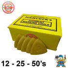 Hancocks Tailors Garment / Fabric Marking Chalk - Yellow - 12, 25, 50 Packs