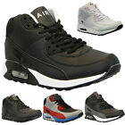 MENS LADIES HI TOP RUNNING TRAINERS CASUAL LACE GYM WALKING BOYS SPORTS SHOES