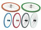 GUARNITURA SINGLE SPEED PROWHEEL URBAN/ RUOTE SCATTO FISSO FIXED BICICLETTA BICI
