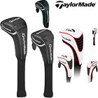 TAYLORMADE GOLF HEADCOVERS *LIMITED EDITION* DRIVER, FAIRWAY, HYBRID WHITE *NEW*