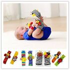 Внешний вид - New Baby Infant Soft Toy Developmental Wrist Strap Foot Socks Rattle Bug Finders