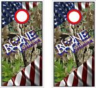 American Bone Collector Cornhole BagToss Game Sticker Decal Set Wrap Wraps