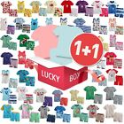 """""""Lucky Box""""2 Sets of Vaenait Baby Girl Boy Clothes Summer Top+Shorts Outfits Set"""