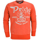 Pride & Glory Chadron Elbow Patch Sweatshirt  Mens Size